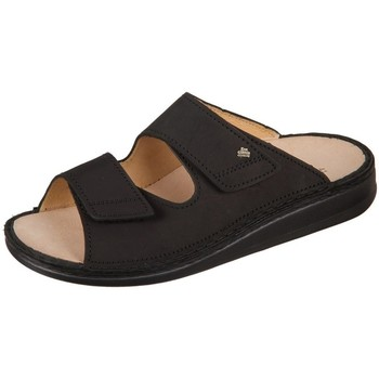 Schuhe Herren Pantoffel Finn Comfort Riad Buggy Schwarz