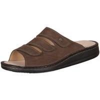 Schuhe Herren Pantoffel Finn Comfort Korfu Tabak Carat Braun