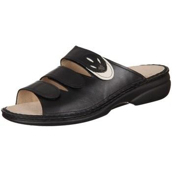 Schuhe Damen Pantoffel Finn Comfort Kos Schwarz