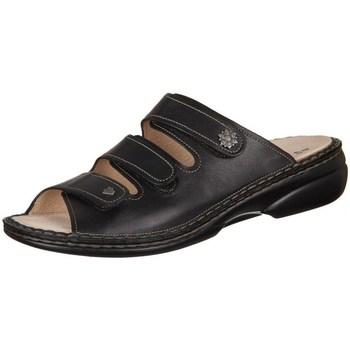 Schuhe Damen Pantoffel Finn Comfort Menorca Schwarz