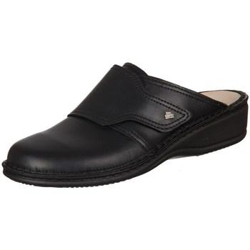 Schuhe Damen Pantoletten / Clogs Finn Comfort Aussee Nappa Seda Schwarz