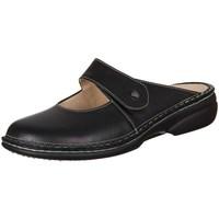 Schuhe Damen Pantoletten / Clogs Finn Comfort Stanford Nappa Seda Schwarz