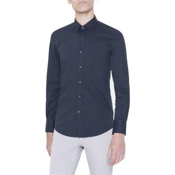 Kleidung Herren Langärmelige Hemden Antony Morato MMSL00375/FA450001 Blu
