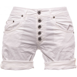 Kleidung Damen Shorts / Bermudas Please P88ACV9M07 Bianco