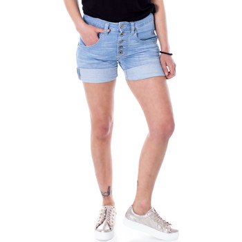 Kleidung Damen Shorts / Bermudas Please P88ABQ2DQH Blu