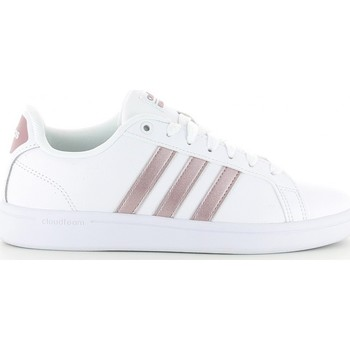 Schuhe Sneaker Low adidas Originals CF ADVANTAGE W blanc