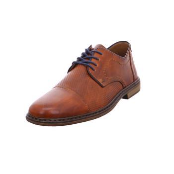 Schuhe Herren Derby-Schuhe & Richelieu Rieker - 13428-24 amaretto/royal/navy