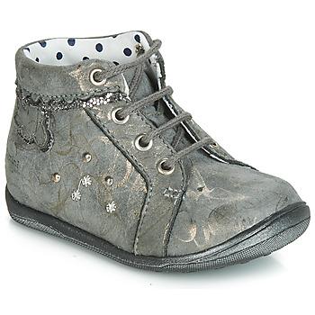 Schuhe Mädchen Sneaker High Catimini FANETTE Grau