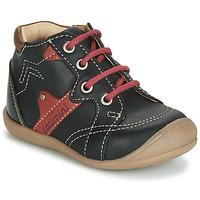 Schuhe Jungen Sneaker High Catimini GASTON Schwarz / Dpf / Kimbo