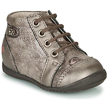 Schuhe Mädchen Sneaker High GBB NICOLE Maulwurf / Dpf / Kezia