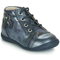 Schuhe Mädchen Sneaker High GBB NICOLE Blau / Grau-bedruckt / Dpf / Kezia
