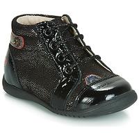 Schuhe Mädchen Sneaker High GBB NICOLE Schwarz-disko / Dpf / Kezia