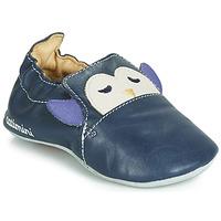 Schuhe Jungen Hausschuhe Catimini PINGOU Marine / Naturfarben