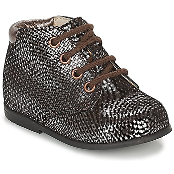 Schuhe Mädchen Boots GBB TACOMA Kupfer / Rose