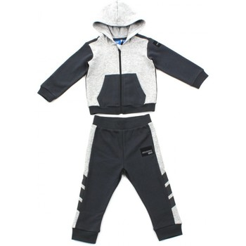 Kleidung Kinder Jogginganzüge adidas Performance SURVETEMENT EQUIPMENT ENFANT Gris