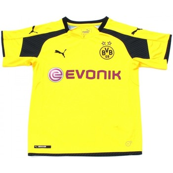 Kleidung Kinder T-Shirts Puma BVB KIDS INT'L REPLICA SHIRT Jaune