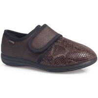 Schuhe Damen Slipper Calzamedi SCHUHE  LADY EXTRA KOMFORTABEL W BROWN