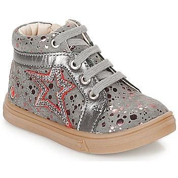 Schuhe Mädchen Sneaker High GBB NAVETTE Grau / Rose