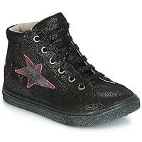 Schuhe Mädchen Sneaker Low GBB MARTA Schwarz-disko / Dpf / Dolby