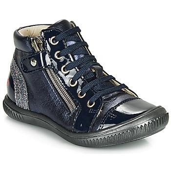 Schuhe Mädchen Sneaker High GBB RACHIDA Marine / Dpf / Franca