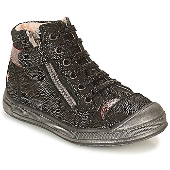 Schuhe Mädchen Sneaker High GBB DESTINY Schwarz-disko / Dpf / Edit