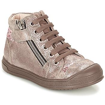 Schuhe Mädchen Sneaker High GBB DESTINY Maulwurf / Bronze