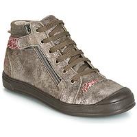 Schuhe Mädchen Sneaker High GBB DESTINY Maulwurf / Rose / Dpf / Edit