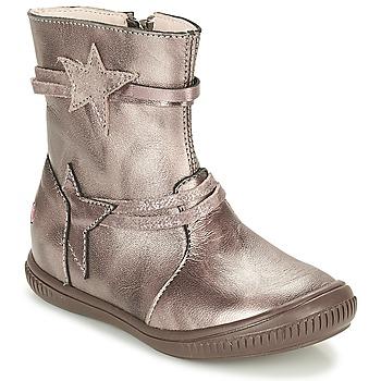 Schuhe Mädchen Boots GBB NOTTE Maulwurf / Bronze