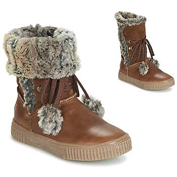 Schuhe Mädchen Klassische Stiefel GBB NOUSTIK Braun