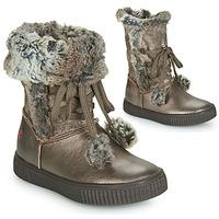 Schuhe Mädchen Klassische Stiefel GBB NOUSTIK Bronze