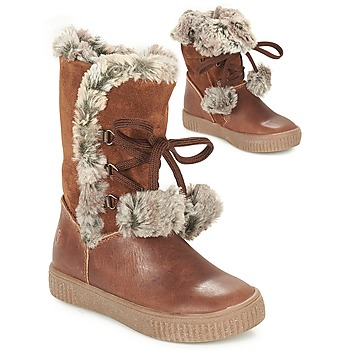 Schuhe Mädchen Klassische Stiefel GBB NOUSTIK Cognac
