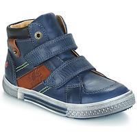 Schuhe Jungen Boots GBB RENDALL Blau / Braun