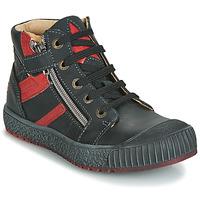 Schuhe Jungen Sneaker High GBB RAMBOUTAN Braun / pflaume / Dpf / Linux