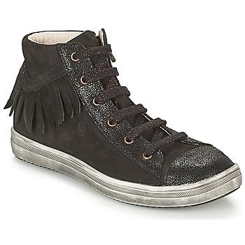 Schuhe Mädchen Sneaker High GBB FRANCESCA Schwarz