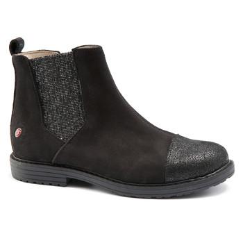 Schuhe Mädchen Boots GBB LEONTINA Nuc / Schwarz / Dpf / Emma