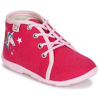 Schuhe Mädchen Hausschuhe GBB FEE ARC EN CIEL Ttx / Himbeer / Dtx / Amis