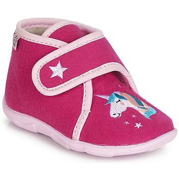 Schuhe Mädchen Hausschuhe GBB FEE DES BOIS Ttx / Himbeer / Dtx / Amis