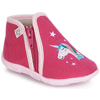 Schuhe Mädchen Hausschuhe GBB FEE STELLA Ttx / Himbeer / Dtx / Amis
