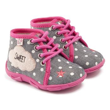 Schuhe Mädchen Hausschuhe GBB BUBBLE Ttx / Grau-rosa / Dtx / Amis