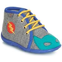 Schuhe Jungen Hausschuhe GBB SUPER BOYS Grau / Blau