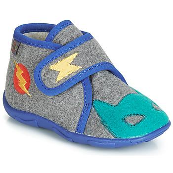 Schuhe Jungen Hausschuhe GBB SUPER DOUDOU Grau / Blau