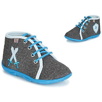 Schuhe Jungen Hausschuhe GBB DAGONET Grau / Blau