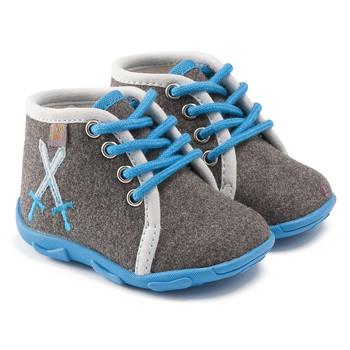 Schuhe Jungen Hausschuhe GBB DAGONET Ttx / Grau-himmel / Dtx / Amis