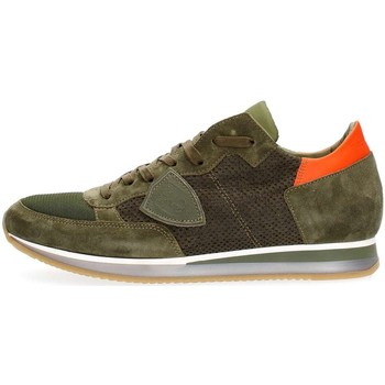 Schuhe Herren Sneaker Low Philippe Model Paris TRLU PS41 TROPEZ PERFORE SNEAKERS Herren GREEN GREEN