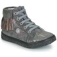 Schuhe Mädchen Sneaker High Catimini LOULOU Grau-marmor / Rose / Dpf / Dolby