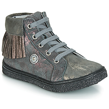Schuhe Mädchen Sneaker High Catimini LOULOU Grau / Rose