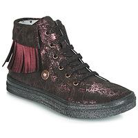 Schuhe Mädchen Sneaker High Catimini LOULOU Schwarz / Rose