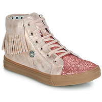 Schuhe Mädchen Sneaker High Catimini LOULOU Rose / Pouder-pail / Dpf / Dolby