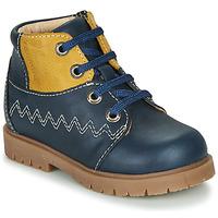 Schuhe Jungen Sneaker High Catimini CHARLY Vtu / Marine-senf / Dpf / 2900