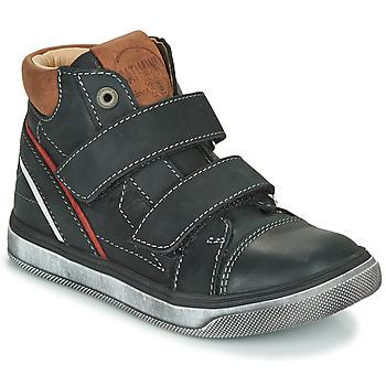Schuhe Jungen Sneaker High Catimini ROBBY Schwarz